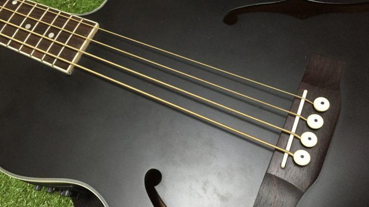 工具不要100円DIY:超簡単!ベースギターに自作フィンガーレスト接着